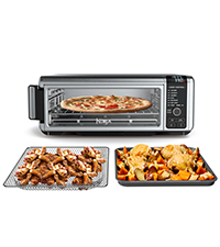 digital air fry oven, air fryer, countertop oven, large toaster oven, dehydrator, easy storage