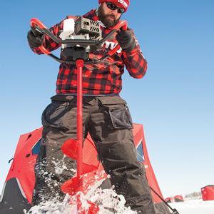 propane ice auger, ice auger, propane auger
