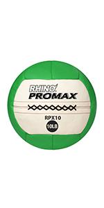 Champion Sports Rhino Promax Slam Balls, 10 lb, Soft Shell with Non-Slip Grip