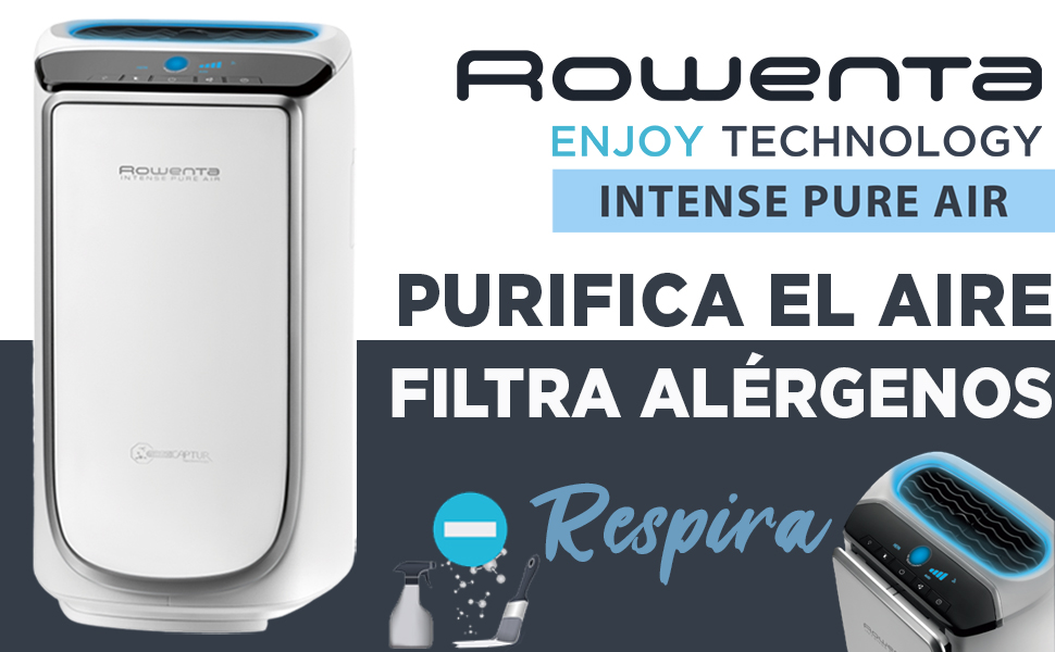 Rowenta Intense Pure Air PU6020 Purificador de Aire XL, para ...