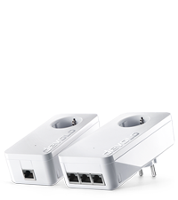 WPA//WPA2-Verschl/üsselung, Range Plus Technology- geeignet f/ür die Schweiz Devolo 8214 Outdoor WiFi Powerline Adapter