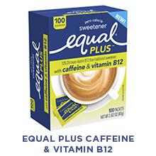 Equal PLUS with caffeine