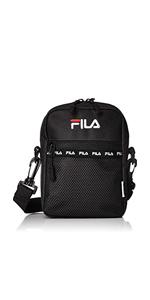 [フィラ] ショルダーバッグ FILA フィラ メンズ レディース 斜めがけ サコッシュ 黒 赤 ネイビー 白 ホワイト F