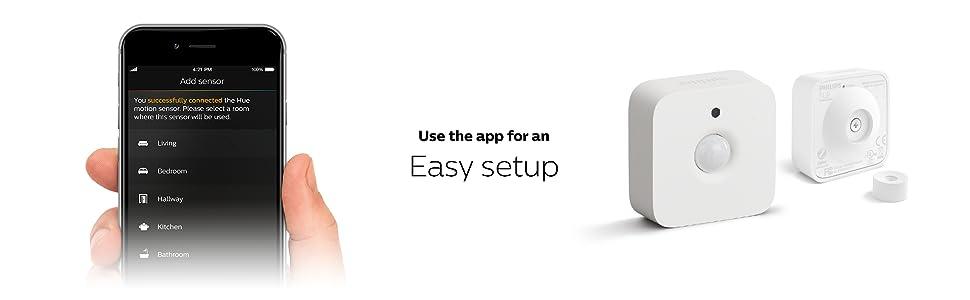 App for easy setup