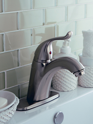 single-hole faucet