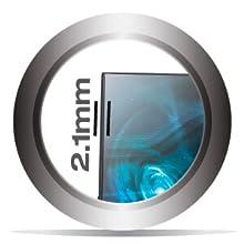 The monitor features an ulta slim 2.1 mm bezel