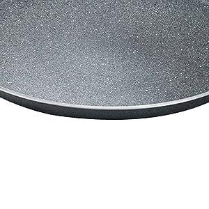 Prestige Omega Deluxe Granite Omni Tawa, Black,250mm