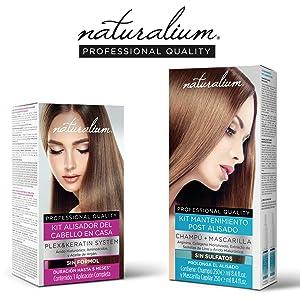 naturalium; kit alisado; alisador de pelo; cuidado cabello; belleza; mujer;