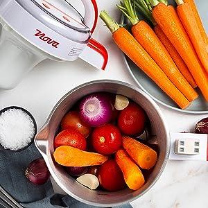 Nova 210300 - Licuadora y máquina para hacer sopa, batidos o ...