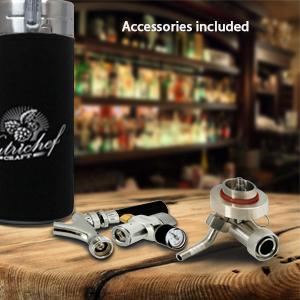 kegerator; beer, beer dispenser, nitro beer dispenser; growler;noise cleaning bottle;beer despensers