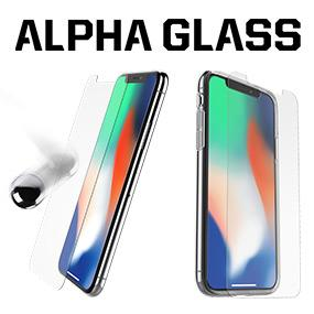 free shipping c2531 8b13c OtterBox Alpha Glass Series Screen Protector for iPhone Xs & iPhone X -  Retail Packaging - Clear