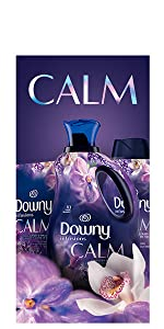 downy infusions fabric conditioner calming scent, fabric softener, dryer sheets, washing machine