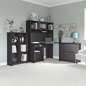 bush furniture cabot collection office furniture home office desk hutch - Bush Office Furniture