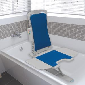 Drive Medical Blue Whisper Ultra Quiet Bathtub Lift Grey