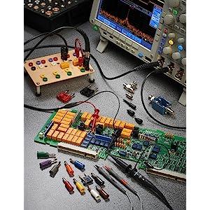 Pomona 5523 Minigrabber Test Clip Patch Cord Kit