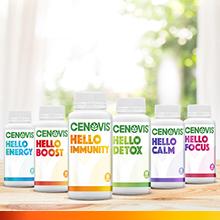 Say hello to the new Cenovis Hello range