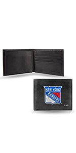 wallet,mens wallet,wallet for women,wallet for men,leather wallet,NHL New York Rangers