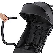 Ultra compact travel stroller, lightweight stroller, small stroller, baby stroller, inglesina pram
