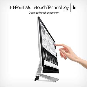 "ASUS Zen AiO ZN270 All-in-One Desktop PC 27"" Full HD Touchscreen Intel 7th gen Core i5 8GB 1TB HDD"