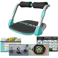 core max 2.0, total body workout, abs machine, core machine
