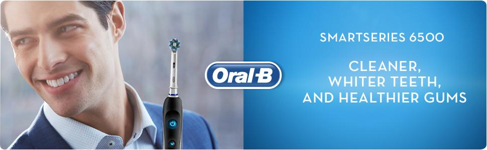 Oral-B Smart Series 6500 electric toothbrush