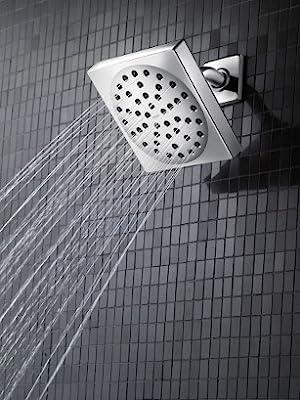 moen 90 degree 6 function shower head