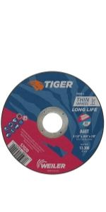 "4.5"" Tiger AO Cutting Wheels"