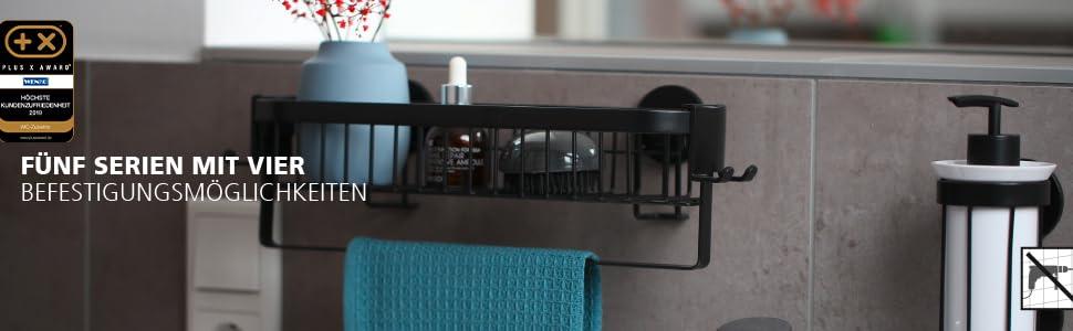 De moderne Premium Plus-serie van Wenko combineert elegante vormen en hoogwaardige kwaliteit.