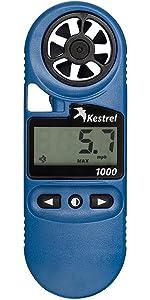 Kestrel 1000 wind meter and anemometer