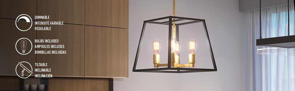 Carter, chandelier, pandant light, soft gold chandelier, black chandelier, rustic pendant