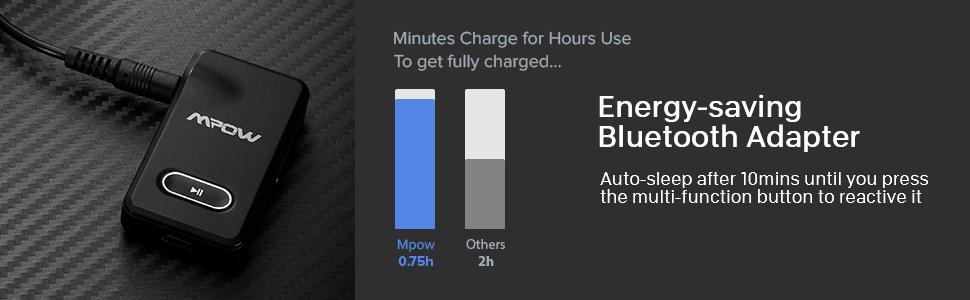 mpow bluetooth receiver for car