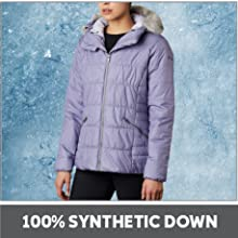 100% Synthetic Down