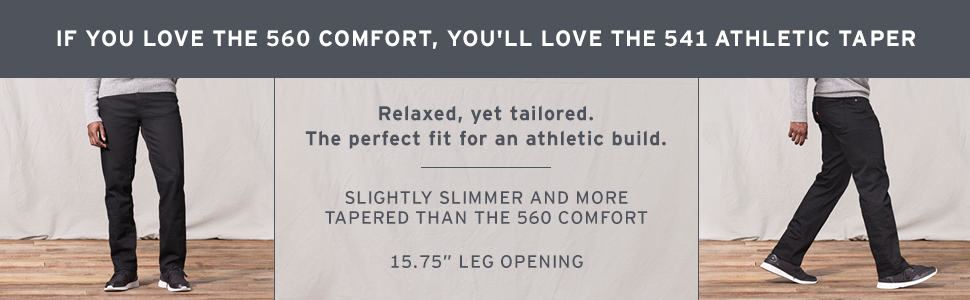If you like the 560, you'll love the 541 Athletic Taper