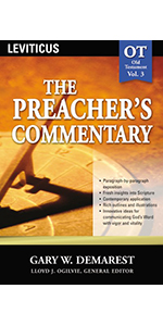 Preacher's commentary volume 3 Leviticus