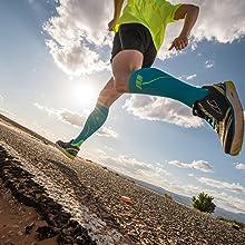 run socks mens marathon compression sport