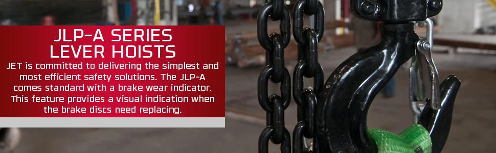 JET JLP-A Series Lever Hoists