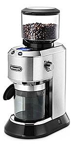 デロンギ デディカ コーン式コーヒーグラインダー 極細~粗挽き 【粒度18段階設定】 KG521J-M