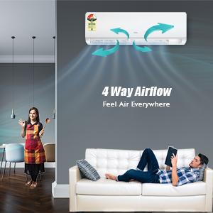 4 Way Air flow