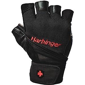 19140XL XL Harbinger Uni Fitnesshandschuhe Pro Wrist Wrap schwarz