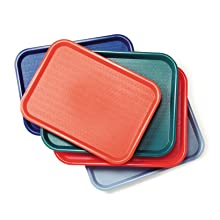 cafeteria trays, plastic trays, fast food trays, cafe tray
