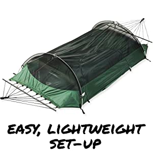 Lawson Hammock Camping tent bivy ground rainfly mosquito net compact small backpacking hiking hybrid
