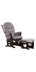 Dutailier MODERN 0349 Glider chairwith Ottoman