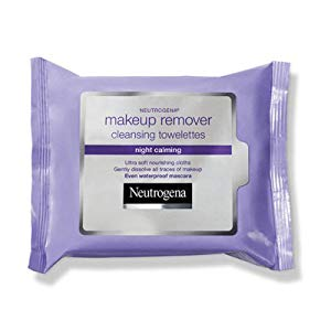 Neutrogena Makeup Remover Cleansing Towelettes Refill Pack, Night Calming