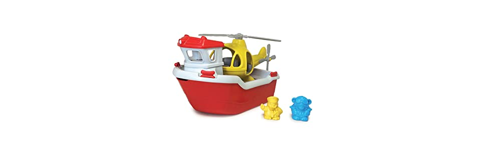 Green Toys Rescue Boat