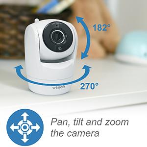 Pan, tilt and zoom