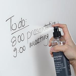 lavagna magnetica di vetro, casapura, stationery island, memo board, beccheca, vetro board