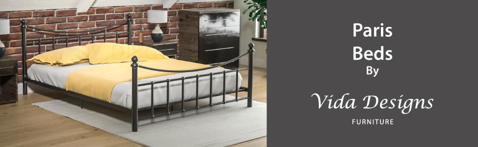 Paris Beds par Vida Designs