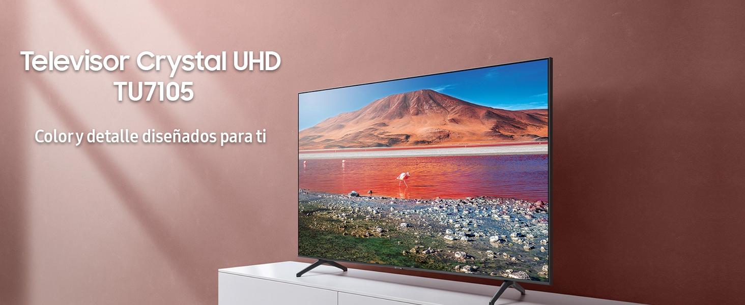 Samsung Crystal UHD 2020 43TU7105- Smart TV de 43