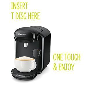 bosch tas1402 tassimo vivy 2 kapselmaschine 1300 watt ber 40 getr nke. Black Bedroom Furniture Sets. Home Design Ideas