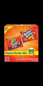 Ritz Bits Peanut Butter sandwich crackers Nutter Butter cookies mix party